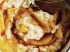Budinca de orez cu mere la cuptor