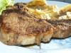 Cotlet de porc cu cartofi inabusiti