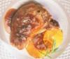 Cotlet de porc cu portocale