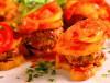 Dizme kebabi  (chiftele de vita cu legume)