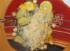 Dovlecel italian cu ciuperci si tofu