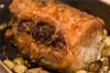 Muschi bucovinean impanat cu morcov, slanina si ou