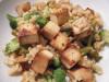 Orez oriental cu tofu si ciuperci