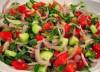 Salata turceasca de rosii cu ardei gras