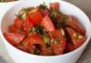 Salata moldoveneasca de rosii