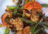 Scoici la tigaie cu sparanghel a la Jamie Oliver