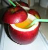 Suc de mere sau pere padurete