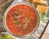 Supa de rosii cu bulgur si dovlecei