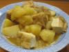 Tofu cu cartofi/ conopida la cuptor
