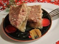Aspic fara gelatina cu picioare si sorici de porc