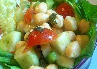 Salata de naut de post
