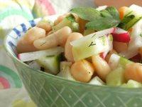Salata mexicana de fasole si naut